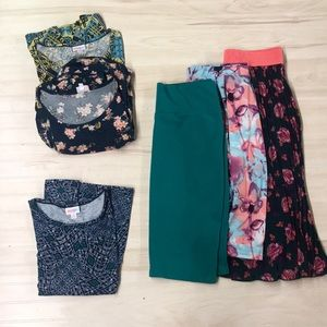 LuLaRoe lot size M! Like new
